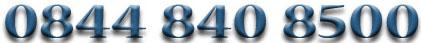 Prospectus request: 0844 840 8400